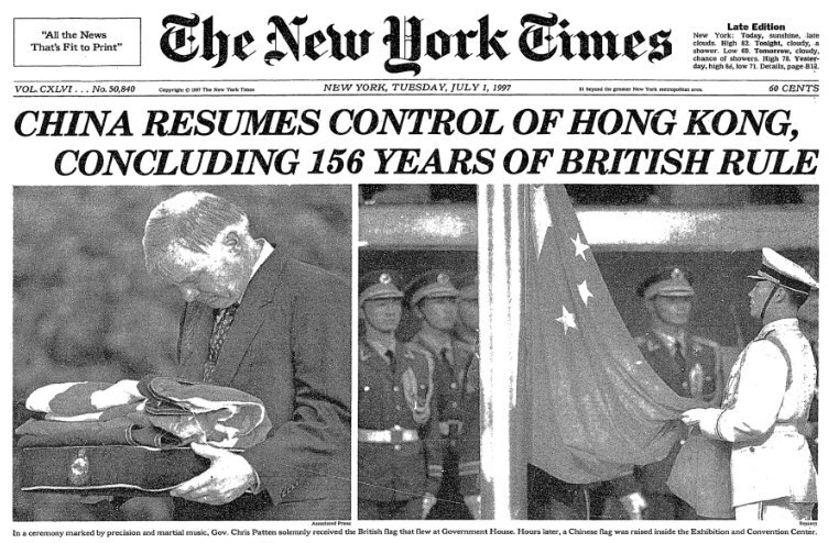 Hong Kong turned over to China from the UK.jpg